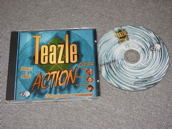 Teazle Action Fem i rad - PC CD-ROM Spel Win 95