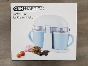 OBH Nordica Tasty Duo Ice Cream Maker