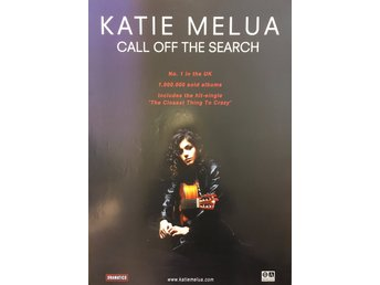 Poster Katie Melua Call off the Search