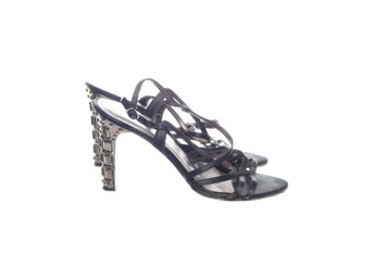 Nine West, Klackskor, Strl: 39, Svart