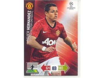 HERNANDEZ - MANCHESTER UNITED -CHAMPIONS LEAGUE 2012-2013