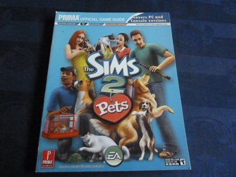 THE SIMS 2, PETS, GAME GUIDE,  BOK, BÖCKER