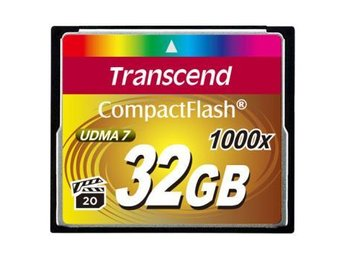 Transcend CompactFlash 32GB 1000x