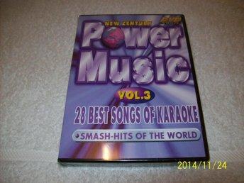 KARAOKE - POWER MUSIC VOL.3 (NY INPLASTAD) - åstorp - KARAOKE - POWER MUSIC VOL.3 (NY INPLASTAD) - åstorp