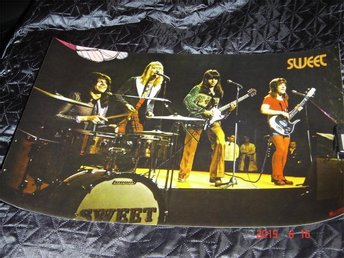 Sweet Poster 1972 Top of the pop.