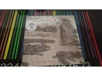 Children of Bodom - Halo of blood vit vinyl - Uppsala - Children of Bodom - Halo of blood vit vinyl - Uppsala