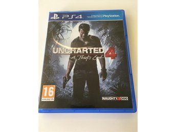 Uncharted 4 till PS4!