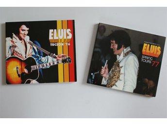 2 CD ELVIS PRESLEY EN CONSERT FRÅN 1976, EN FRÅN 1977 - Uddevalla - 2 CD ELVIS PRESLEY EN CONSERT FRÅN 1976, EN FRÅN 1977 - Uddevalla