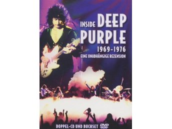 Deep Purple -Inside Deep purple 1969-1976 Book w 2 dvd S/S