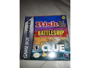 GBA risk battleship clue in 1