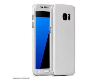 Galaxy S7 edge 360 graders skyddsskal skal skydd tunt Silver mobilskal skydd - Nordmaling - Galaxy S7 edge 360 graders skyddsskal skal skydd tunt Silver mobilskal skydd - Nordmaling
