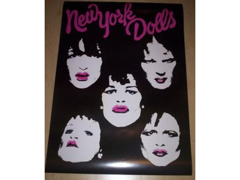 NEW YORK DOLLS (poster, affisch) punk Thunders, Johansen
