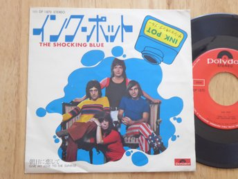 SHOCKING BLUE - Ink pot  Polydor Japan -72
