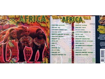This Is Africa Vol 2, Div artister (2CD)