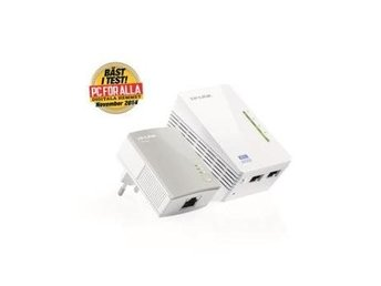 TP-Link AV500 300Mbps 2-port Wireless N Powerline Extender Kit/including TL-WPA4