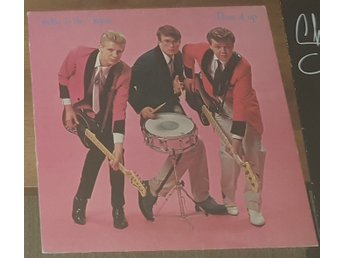 Teddy & The tigers - Burn it up     LP