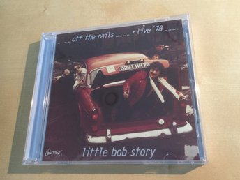 Little Bob story  off the rails... 14 låtar Ovanlig CD  Fint skick Chiswick 2015