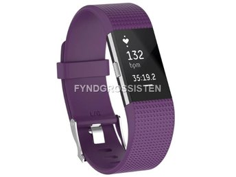 Armband Fitbit Charge 2 Large Purple Fri Frakt Ny