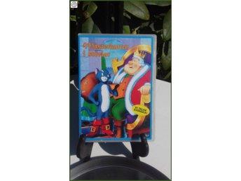 Mästerkatten i stövlar DVD utmärk 49 min speltid Bästa barnvakten