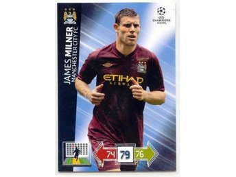 MILNER - MANCHESTER CITY -CHAMPIONS LEAGUE 2012-2013