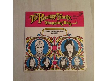 THE PARTRIDGE FAMILY - SHOPPING BAG.  (NEAR MINT LP)