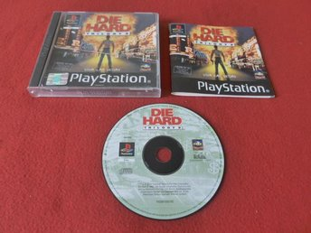 DIE HARD TRILOGY 2 till Sony Playstation PSone - Blomstermåla - DIE HARD TRILOGY 2 till Sony Playstation PSone - Blomstermåla