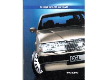 2001 Volvo 700,900,s90.v90 tillbehör försäljningsbroschyr - Lomma - 2001 Volvo 700,900,s90.v90 tillbehör försäljningsbroschyr - Lomma