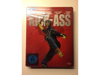 """Kick-Ass"" Blu-Ray Limited Edition Steelbook (Ny, Inplastad!) - Upplands Väsby - ""Kick-Ass"" Blu-Ray Limited Edition Steelbook (Ny, Inplastad!) - Upplands Väsby"