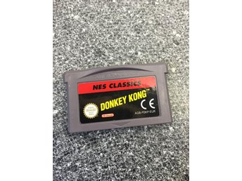 Nes Classics - Donkey Kong , Game Boy Advance