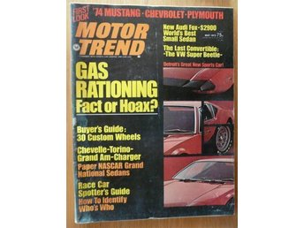 Motor Trend May 1973