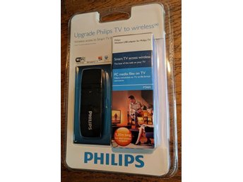 "Wireless USB-adapter, ""Upgrade Philips TV to wireless"" till Philips TV"