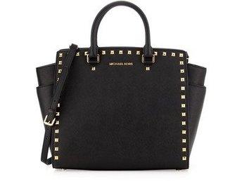 ÄKTA Michael Kors Selma Stud Handbag Large! Som NY!!! - Järfälla - ÄKTA Michael Kors Selma Stud Handbag Large! Som NY!!! - Järfälla