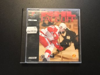 NHL FACE OFF-PLAYSTATION ONE
