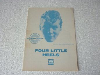 Notblad Nothäfte fr.1960 Brian Hyland - Four Little Heels