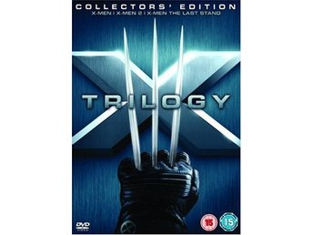 X-Men Trilogy - Collectors Edition - DVD Box