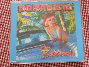 Paradisio - Bailando CD Single 1997 Trance Euro house