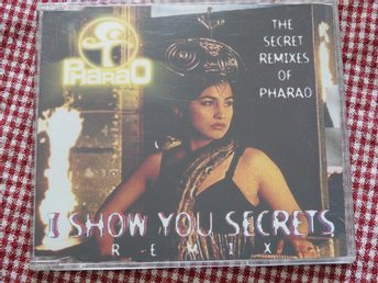 Pharao - I Show you secrets CD Single (Secret Remixes) 1994 Trance