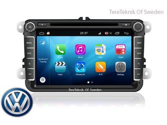 Bilstereo VW Passat golf Caddy Amarok Transporter Polo Sharan Touareg multivan