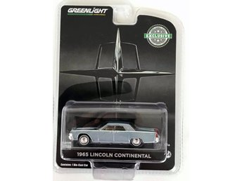 1965 Lincoln Continental 1/64 Greenlight ljusgrå