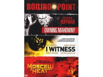 Boiling point moviebox - 3 filmer (3 DVD)