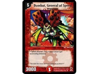 Bombat, General of Speed