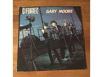 GARY MOORE - G-FORCE. (LP)