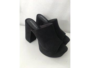 Svarta klackar med dragkedja (339508721) ᐈ Köp på Tradera b356e7ea8d365