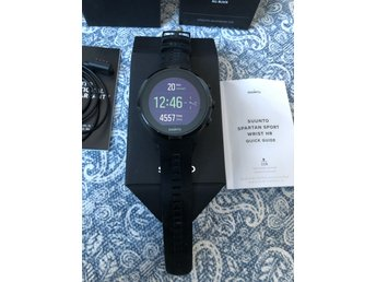 Suunto Spartan Sport Hr wrist All black