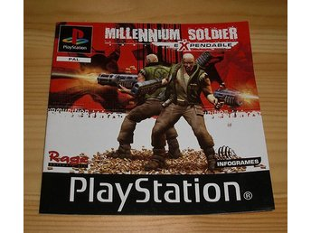 Manual PS: Millennium Soldier Expendable