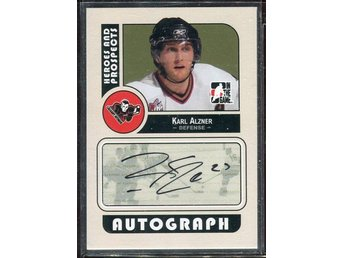 2008-09 ITG Heroes and Prospects Autographs #AKA Karl Alzner