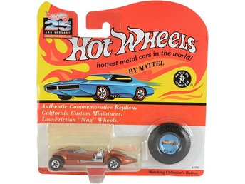 Twin Mill Orange Hot Wheels #5709 25th Anniversary Collector's Edition