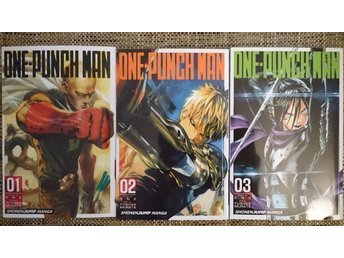 One-Punch Man, vol. 1-3