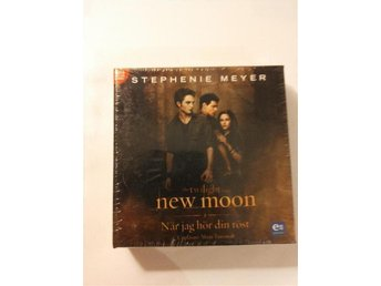 NY LJUDBOK/MP3-CD - Twilight, New Moon, När jag hör din röst, Stephenie Meyer