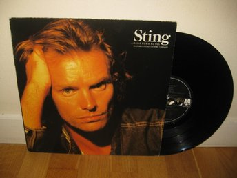"STING - ...nada como el sol 10"" 1988 / The Police"